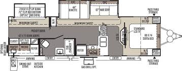 Rockwood Trailers Floor Plans 2015 Forest River Rockwood Signature Ultra Lite 8312ss Travel