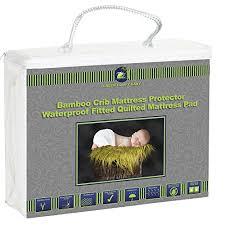Bamboo Crib Mattress Crib Mattress Protector Organic Bamboo By Green Comfy Baby
