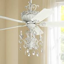 Chandelier Ceiling Fans With Lights 52 Casa Chic Rubbed White Chandelier Ceiling Fan 12277 4g156
