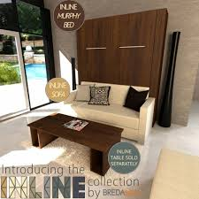 Narrow Wall Table by Interior Design 19 Murphy Bed Over Sofa Interior Designs
