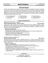 resume sles word format sales engineerle description outside sales representative