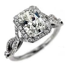simulated engagement ring wieck antique jewelry simulated 925 sterling