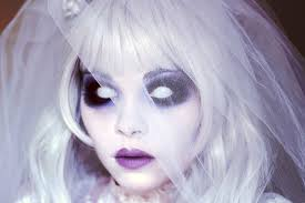ghost bride makeup tutuorial 31 days of halloween youtube