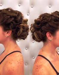 curly half up half down hairstyles for short hair hollywood official