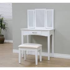 5 Piece Bedroom Set Includes Megahome 3 Piece White Vanity Set Mh206 Wh The Home Depot