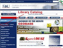 online tutorial library fau libraries library online tutorial introduction to the catalog