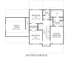 3 Bedroom Floor Plans With Bonus Room by Houseplans Biz House Plan 2309 A The Coleman A