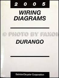 1999 dodge durango wiring diagram 2005 dodge durango wiring diagram manual original