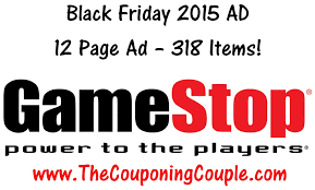 gamestop black friday 2015 ad 12 pages 318 items black
