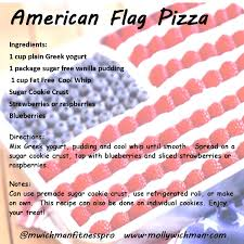 Use Flag Trainer Recipe Flag Fruit Pizza Molly Wichman