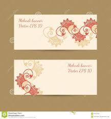 magnificent mehndi business cards contemporary business card