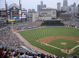 calm the muddy water it becomes clear comerica park in