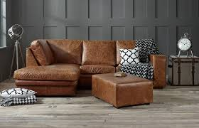 Leather Chaise Sofa Leather Chaise Sofa Bed Left Facing The Furniture Mega Store