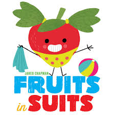 amazon com fruits in suits 9781419722981 jared chapman books