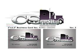 cs trucking business card by fireproofgfx on deviantart