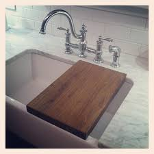 farmhouse sink cutting board before and after brookside