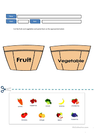 free worksheets printable fruits and vegetables free math