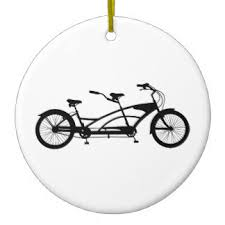 bike tree decorations ornaments zazzle co uk