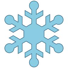 snowflakes clip art 3 groups of snowflakes image 4 clipartix