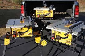Job Site Table Saw Dewalt Table Saws Dwe7480 Dwe7490x Dwe7491rs Home Construction