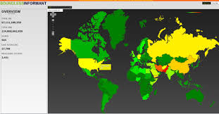 Iran On World Map Pakistan Iran And U2026 Usa New Heatmap Shows Where Nsa Hacks Ars