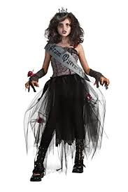 girls gothic prom queen fancy dress costume rubies childs