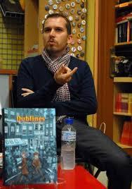 Alfonso Zapico, autor de Dublinés