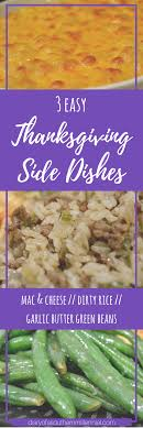 3 easy thanksgiving side dishes diary of a southern millennial