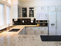 dark granite countertops with white kitchen cabinets all one image kitchen designs with white cabinets and granite countertops