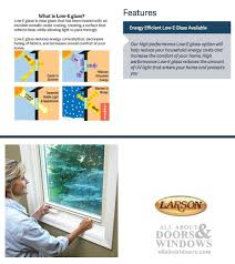 Peachtree Doors And Windows Parts by Inside Interior Storm Window Clear Glass