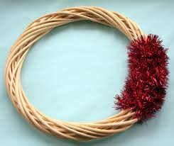 wreath forms vintage bulb reflector and tinsel wreath tutorial mitzi s miscellany