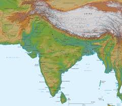 India Maps by Physical Map Of India Asia