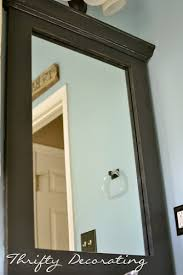 Small Bathroom Mirrors by Best 25 Framed Bathroom Mirrors Ideas On Pinterest Framing A