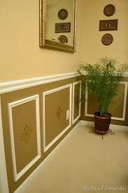 day 17 u2013add some wainscoting to your home