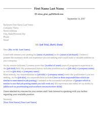 cover letter name how to write a cover letter 5 recruiters tell all