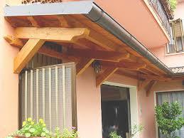 tettoie per porte esterne costruire tettoie strutture materiali e permessi