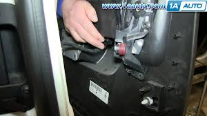 how to install remove rear door panel 2007 13 chevy silverado