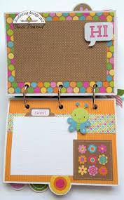 small scrapbook album 83 best doodlebug mini albums images on mini albums