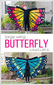 Halloween Fleece Fabric by How To Make A Large Wing Butterfly Costume Via Www Makeit Loveit