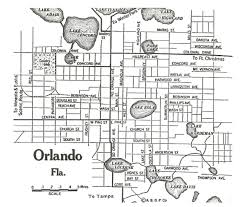 Orlando City Map by Florida Stuff From My Bulging Files What Can I Say