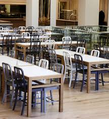 School Dining Room Furniture Emeco 111 Navy Chair Designed By Conran Architects The New Dining