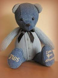 remembrance teddy bears made from a cardigan this remembrance has been created in