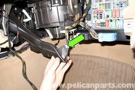 bmw e90 blower motor replacement e91 e92 e93 pelican parts