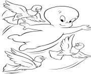 casper ghost kids printablefb1f coloring pages printable
