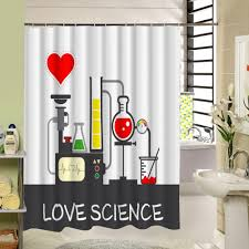 Science Is Awesome Periodic Table Of Elements Eva Shower Curtain Marilyn Polyester Shower Curtain Waterproof Pattern 3d Curtain For