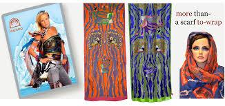 inuit textile art silk scarves enchanted bird by kenojuak