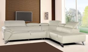 Polaris Sofa Living Room Orange Black Italian Leather Sectional Sofa