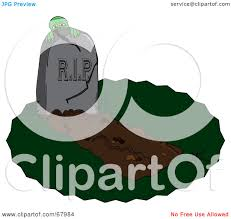 halloween graveyard clipart royalty free rf clipart illustration of a zombie hiding behind a
