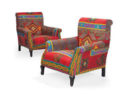 Kilim Armchair A Pair Of Kilim Upholstered Armchairs Second Half 20th Century