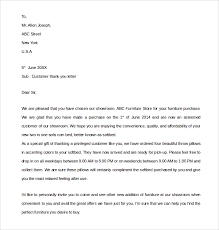 sample thank you letter template 16 free documents download in